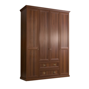 Шкаф 4-х дверный с ящиками Венеция